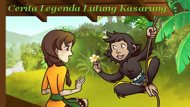 Cerita Legenda Lutung Kasarung