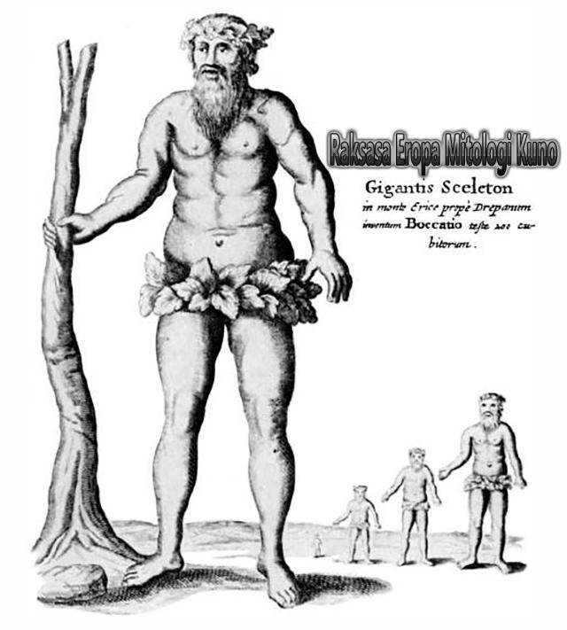 Raksasa Eropa Mitologi Kuno